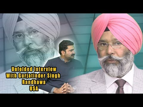 Interview With Gurjatinder Singh Randhawa USA !! Discussion Sikhs Opinions Abt Pak Who Living Abroad